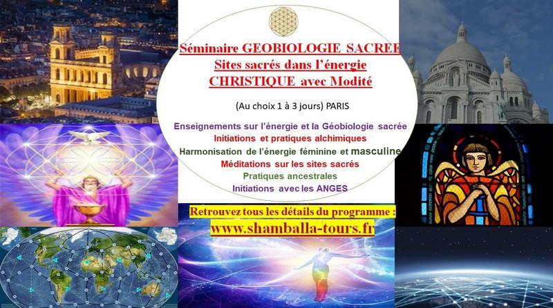 Séminaire de géobiologie sacrée à Paris. Energie et chamanisme