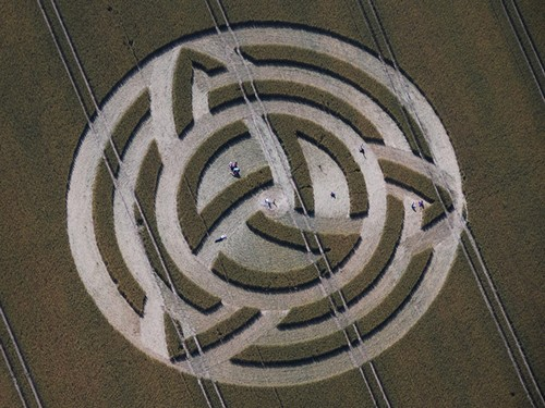 Voyage initiatique Angleterre crop circles