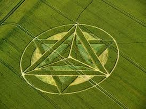Meditation crop circle