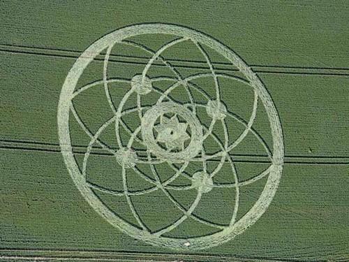 Géobiologie sacrée et crop circles