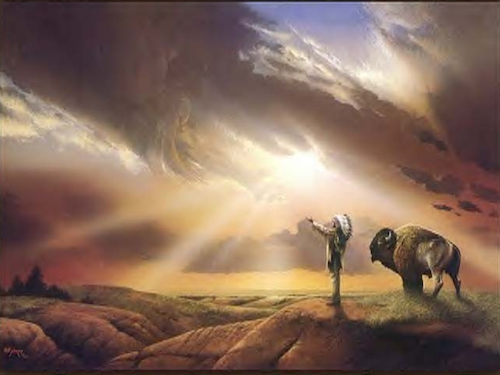 Chamanisme et animal totem