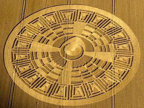Message des crop cercles