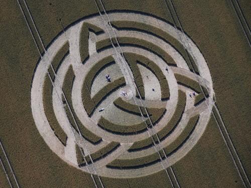 Voyage initiatique Angleterre crop circles