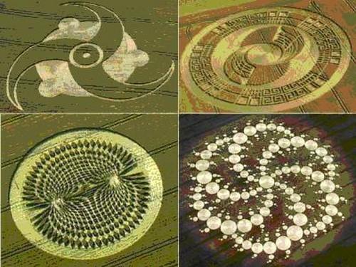 Initiations dans les crop circles