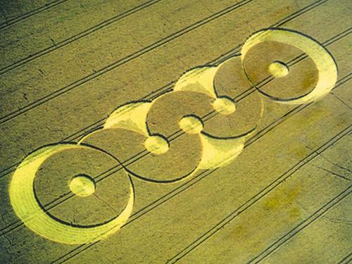 Crop circle et voyage